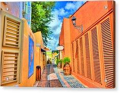 Paradise Colors Acrylic Print