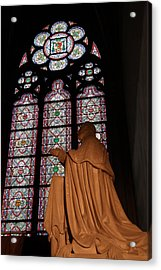 Paris France - Notre Dame De Paris - 011312 Acrylic Print by DC Photographer