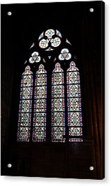 Paris France - Notre Dame De Paris - 01133 Acrylic Print by DC Photographer