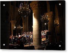 Paris France - Notre Dame De Paris - 01136 Acrylic Print by DC Photographer