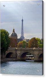 Paris Acrylic Print by Ioan Panaite