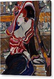 Paris La Mouff Acrylic Print