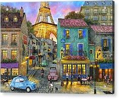 Paris Streets Acrylic Print