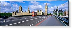 Parliament Big Ben London England Acrylic Print by Panoramic Images