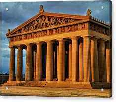 Parthenon Acrylic Print by Dan Sproul