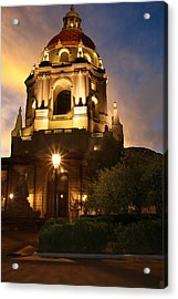 Pasadena City Hall Acrylic Print