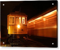 Acrylic Print featuring the photograph Passing In The Night by Jim Poulos