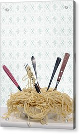 Pasta For Five Acrylic Print by Joana Kruse