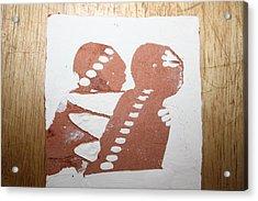 Paul - Tile Acrylic Print by Gloria Ssali