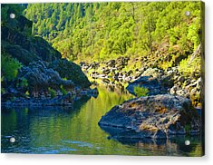 Acrylic Print featuring the photograph Peaceful Waters by Sherri Meyer