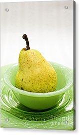 Pear Still Life Acrylic Print by Edward Fielding