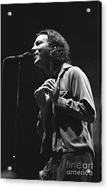 Pearl Jam Acrylic Print by Concert Photos