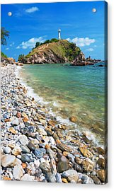 Pebble Beach Acrylic Print