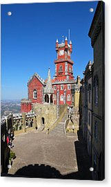 Pena Palace Acrylic Print by Luis Esteves