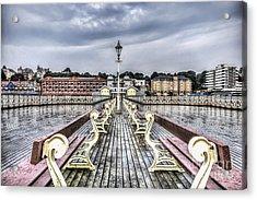 Penarth Pier 5 Acrylic Print by Steve Purnell