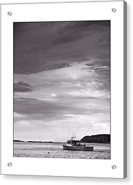 Pending Storm Acrylic Print by Don Powers