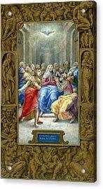 Pentecost Acrylic Print by Granger