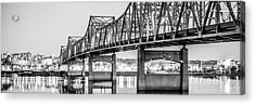 Peoria Illinois Bridge Panoramic Picture Acrylic Print
