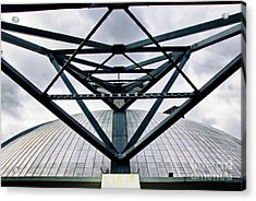 Perspectives Mellon Arena Acrylic Print by Amy Cicconi