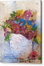 Petals And Blooms Acrylic Print
