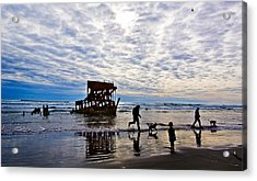 Peter Iredale Shipwreck, Fort Stevens Acrylic Print