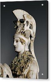 Phidias 490 -431 Bc. Varvakeion Athena Acrylic Print