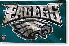 Philadelphia Eagles Uniform Acrylic Print by Joe Hamilton