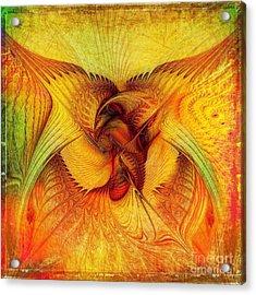 Phoenix Acrylic Print by Klara Acel