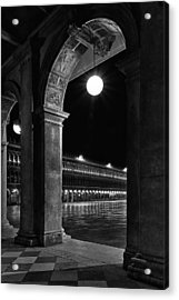Acrylic Print featuring the photograph Piazza San Marco 2 by Marion Galt