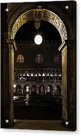 Acrylic Print featuring the photograph Piazza San Marco by Marion Galt