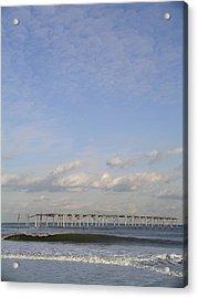 Pier Wave Acrylic Print