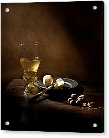 Acrylic Print featuring the photograph Pieter Claesz - Still Life With A Large Roemer by Levin Rodriguez