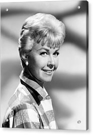 Pillow Talk, Doris Day, 1959 Acrylic Print by Everett