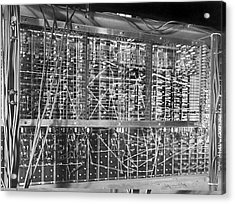 Pilot Ace Computer Components, 1950 Acrylic Print by Science Photo Library