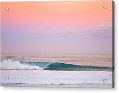 Pink Pipe Acrylic Print by Sean Davey