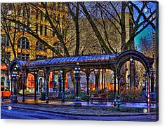 Pioneer Square - Seattle Acrylic Print