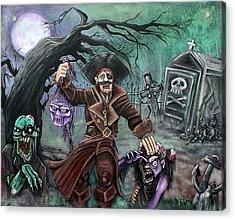 Pirate's Graveyard Acrylic Print by Laura Barbosa