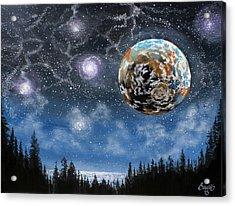 Planet X Niburu Acrylic Print by Jim Bowers
