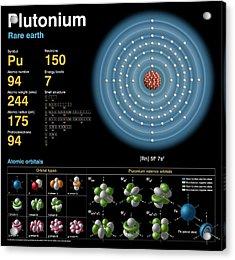 Plutonium Acrylic Print by Carlos Clarivan
