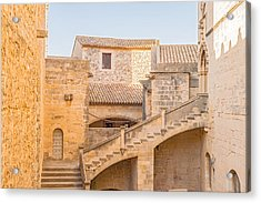 Poblet Monastery Near Barcelona In Catalonia Spain Acrylic Print