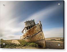 Point Reyes Shipwreck Acrylic Print