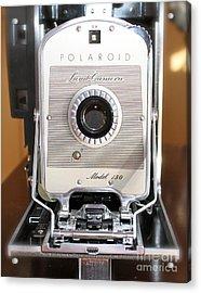 Polaroid Land Camera Acrylic Print by Pamela Walrath