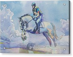 Polo Art Acrylic Print by Catf