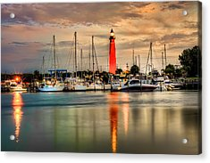 Ponce Inlet Lighthouse Acrylic Print