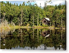 Pond Along The At Acrylic Print