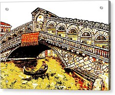 An Iconic Bridge Acrylic Print