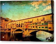 Ponte Vecchio 01 Acrylic Print