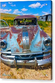 Pontiac Blues Acrylic Print