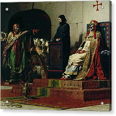 Pope Formosus And Pope Stephen Vi Acrylic Print