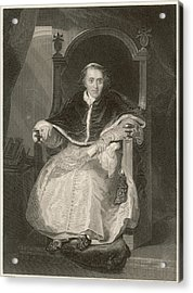 Pope Pius Vii (luigi Barnabo Acrylic Print by Mary Evans Picture Library